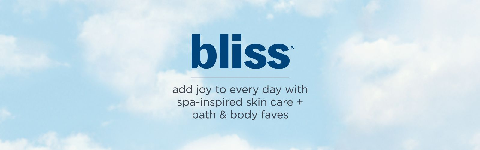 bliss — skin care, bath & body products — QVC.com
