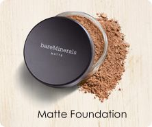bareMinerals Matte Foundation SPF 15 with Kabuki Brush