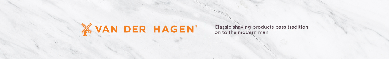 Van Der Hagen. Classic shaving products pass tradition on to the modern man.