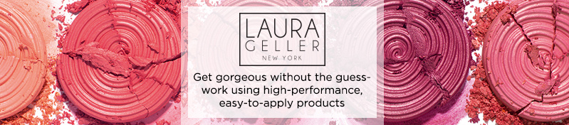 Laura Geller,  Get gorgeous without the guesswork using high-performance, easy-to-apply products