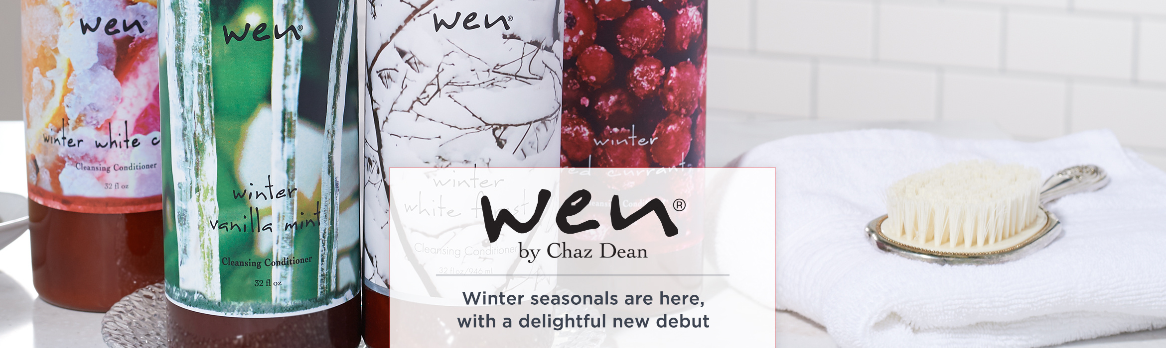 WEN by Chaz Dean - Winter seasonals are here, with a delightful new debut