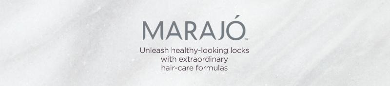 MARAJÓ Unleash healthy-looking locks with extraordinary hair-care formulas