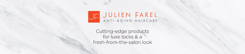 Julien Farel. Cutting-edge products for luxe locks & a fresh-from-the-salon look