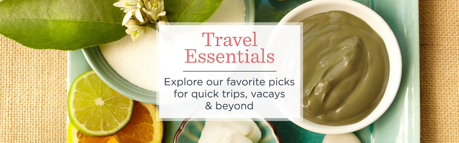 Travel Essentials. Explore our favorite picks for quick trips, vacays & beyond