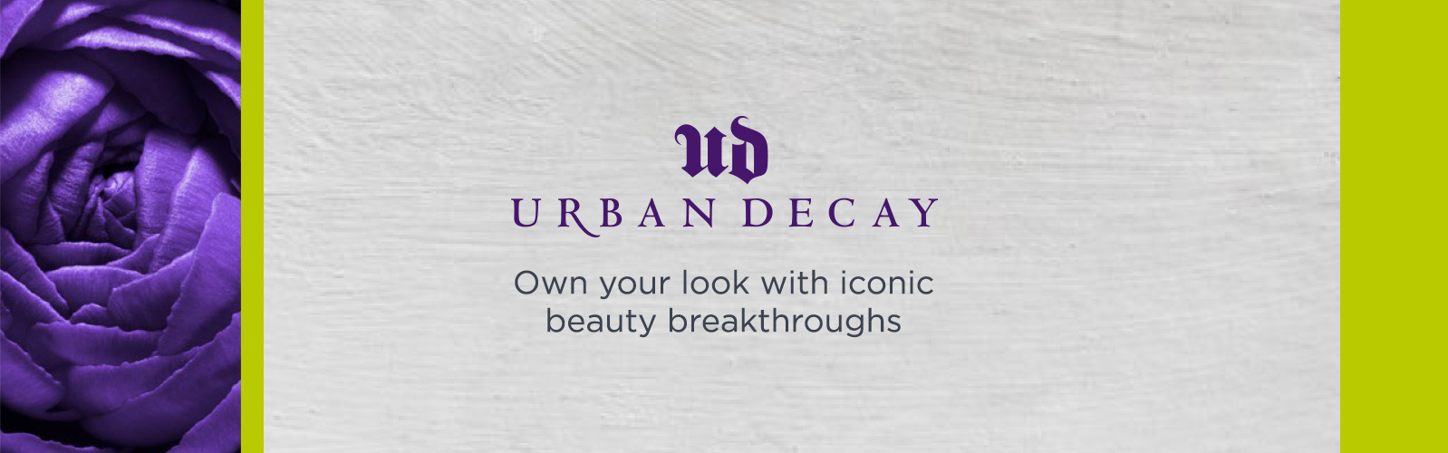 Urban Decay. Own your look with iconic beauty breakthroughs