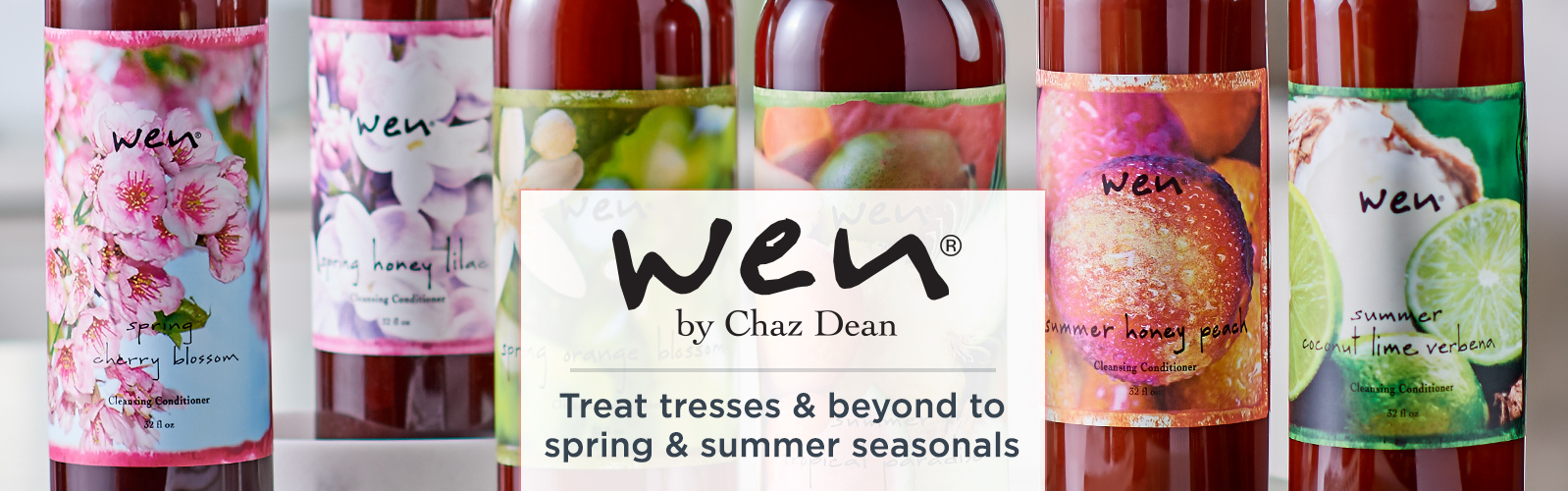 WEN by Chaz Dean. Treat tresses & beyond to spring & summer seasonals