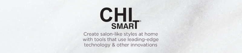 CHI Smart. Get soft, silky hair with CHI Smart products from QVC! Shop our wide array of hair styling tools, like CHI hair straighteners, hair dryers & curling irons.