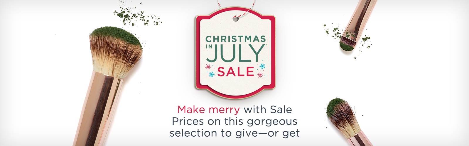 Christmas in July Sale. Make merry with Sale Prices on this gorgeous selection to give—or get