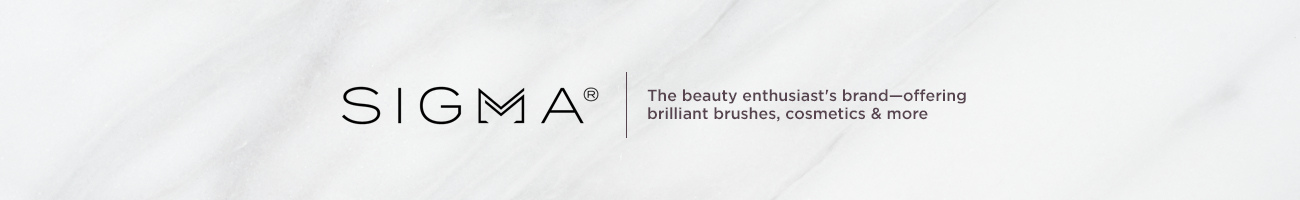 Sigma Beauty. The beauty enthusiast's brand—offering brilliant brushes, cosmetics & more