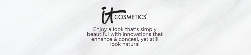 IT Cosmetics®. Enjoy a look that's simply beautiful with innovations that enhance & conceal, yet still look natural