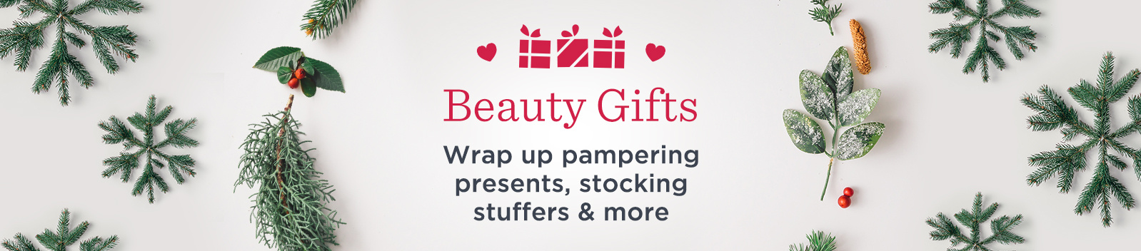 Beauty Gifts  Wrap up pampering presents, stocking stuffers & more