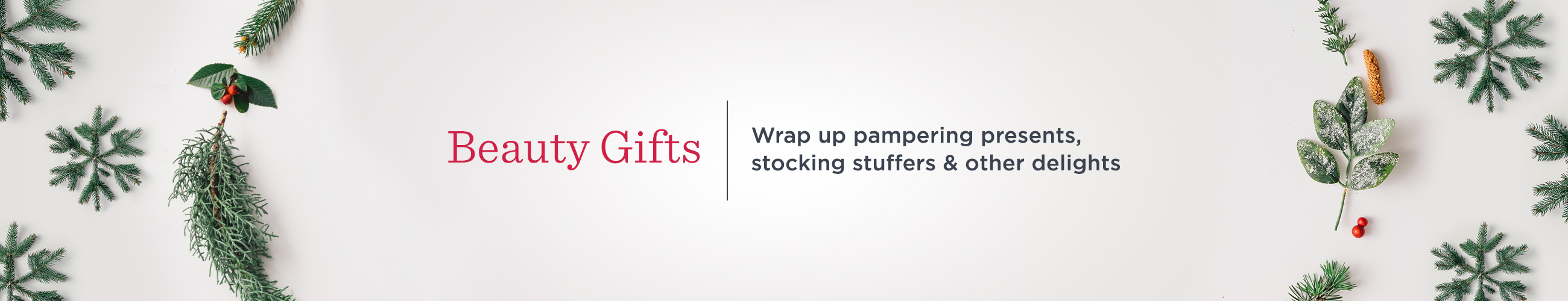 Beauty Gifts. Wrap up pampering presents, stocking stuffers & other delights