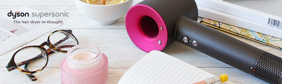dyson supersonic, The hair dryer re-thought.