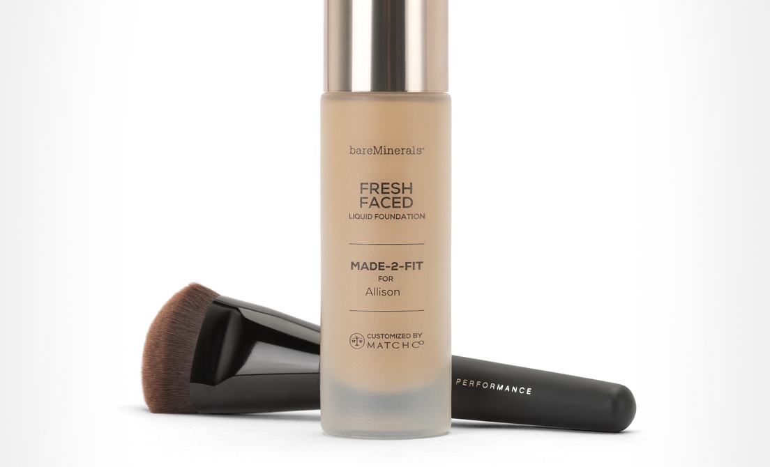 personalized bottle of Fresh Faced Foundation
