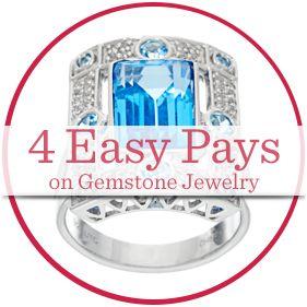 4 Easy Pays on Gemstone Jewelry