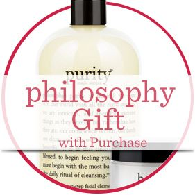 philosophy Gift with Purchase