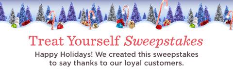 Treat Yourself Sweepstakes