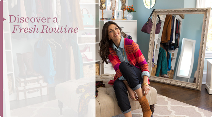 Discover a Fresh Routine