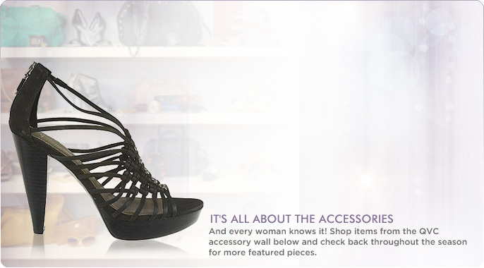 As Seen on the QVC Accessory Wall