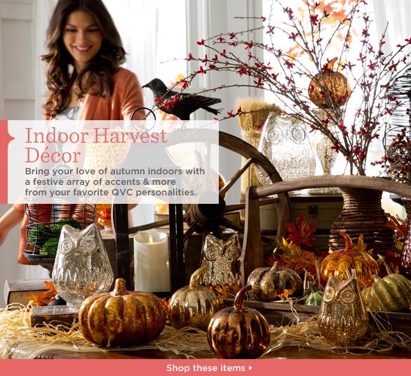 Indoor Harvest Décor