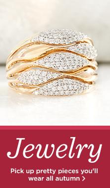 Affinity Diamond Multi-Row Ring