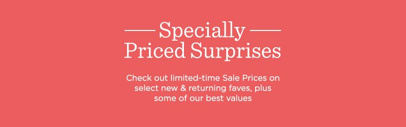 Specially Priced Surprises