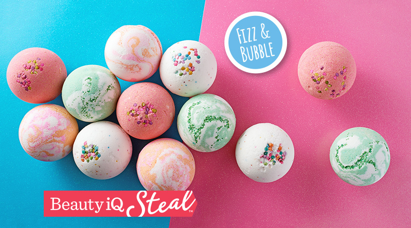 Beauty iQ Steal™ Fizz & Bubble 12-Pack Large Bath Fizzy Collection