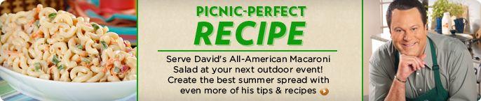 David Venable's All-American Macaroni Salad