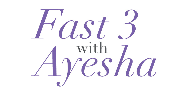 Fast 3 with Ayesha