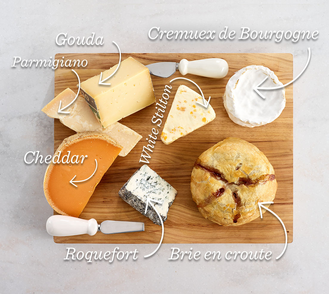 Cheeses I Like to Include on a Board
