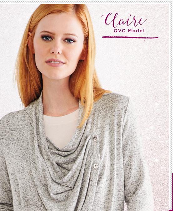 Claire. QVC Model