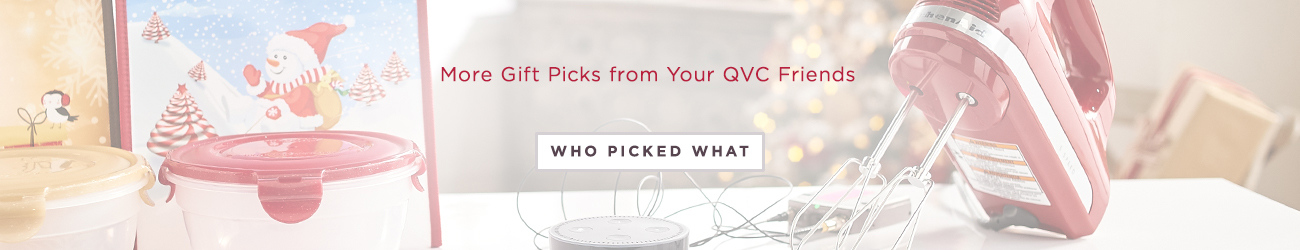 More Gift Picks from Your QVC Friends