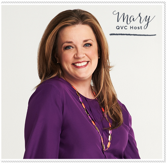 Mary. QVC Host