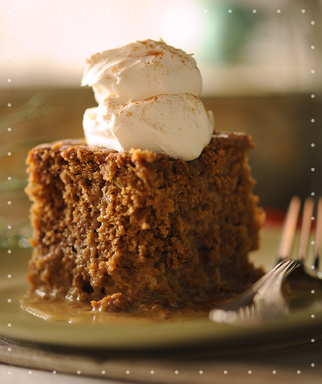 Gingerbread Pudding Cake