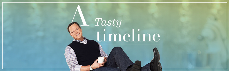 A Tasty Timeline