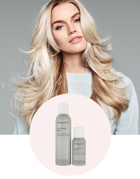 Full Dry Volume Blast Styling Spray with Travel Size. Shop Now