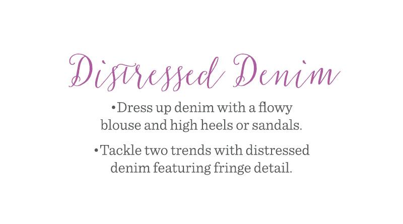 Distressed Denim