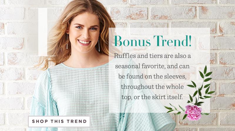 Bonus trend! Shop the Trend