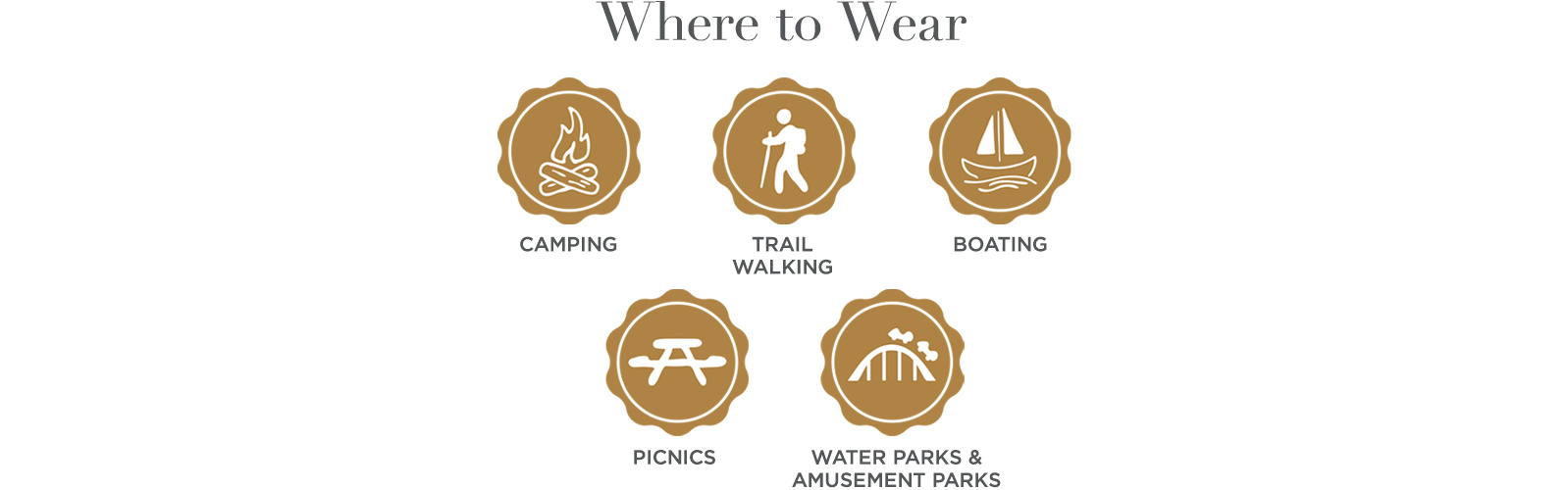 Where to Wear