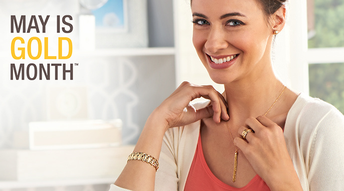 May Is Gold Month — Gold — Jewelry — QVC