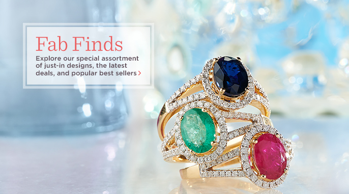 14K Gold Ruby, Emerald, or Diamond Ring