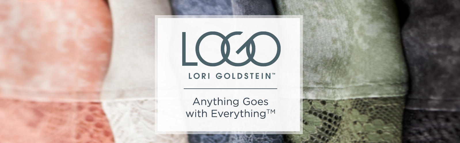LOGO by Lori Goldstein Anything Goes with Everything TM
