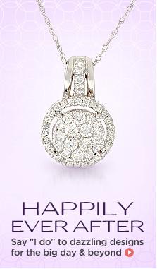 Affinity(R) 14K Gold Halo Necklace