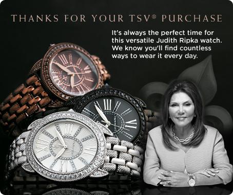 Judith Ripka Stainless Steel Interchangeable Strap Watch