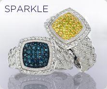 Affinity(R) Diamond Sterling Ring