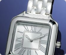 UltraFine(R) Silver Watch