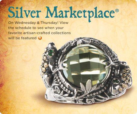 Artisan-crafted sterling/18K gold green quartz & tsavorite ring