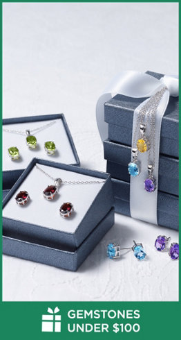 Gemstones Under $100