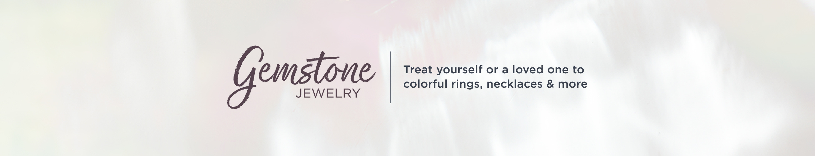 Gemstone Jewelry.   Treat yourself or a loved one to colorful rings, necklaces & more