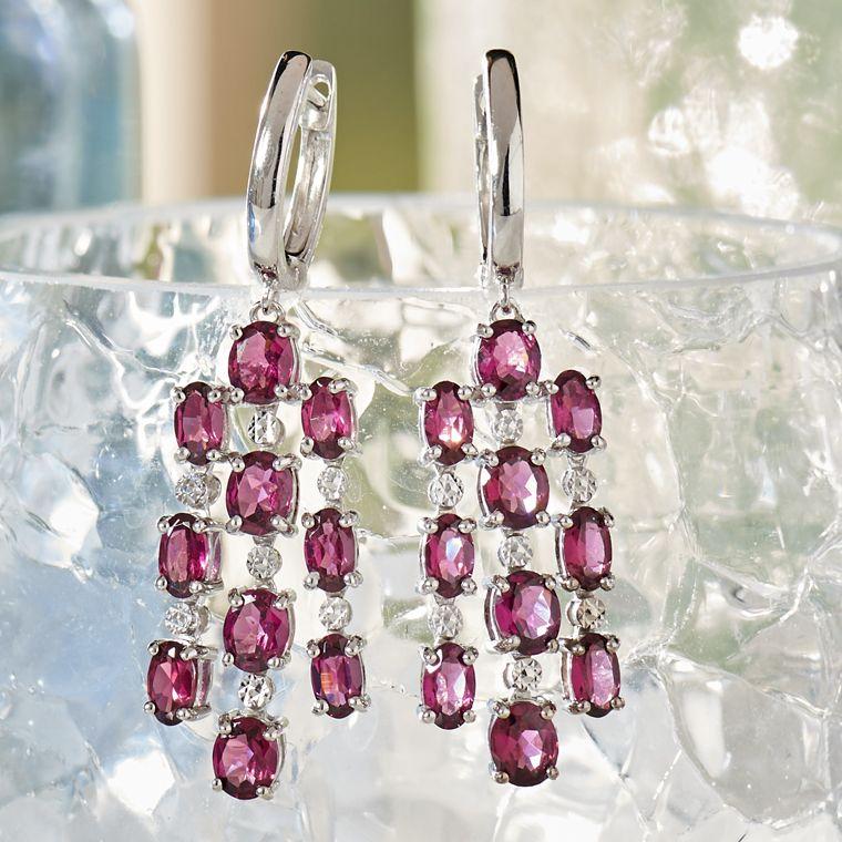 Earrings. Chandelier 93f2b728f5c5